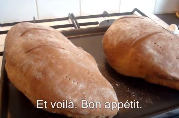 «Recette du pain pastez (ou pastès) et sa technique de pliage.»